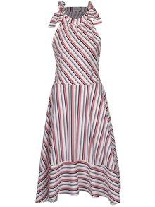 Rochie asimetrică midi cu dungi Aer Wear