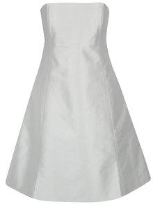 Rochie midi albă cu fundă la spate Aer Wear