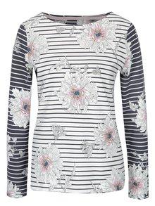 Krémové dámské pruhované tričko Tom Joule Harbour