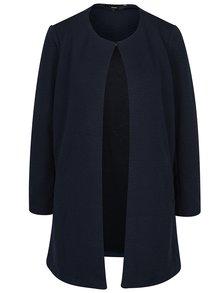 Tmavomodrý tenký kabát VERO MODA Stella