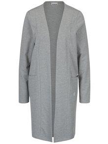 Světle šedý žíhaný lehký kabát Noisy May Carmen
