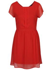 Rochie roșie midi de voal - VERO MODA Lisa