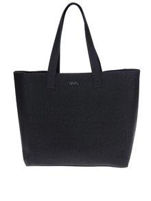 Geantă shopper neagră aspect 2 în 1 - Superdry Elaina