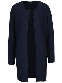 Tmavomodrý ľahký kabát VERO MODA Ditte