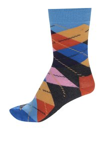 Șosete unisex multicolore înalte  Happy Socks Argyle