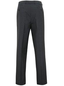 Tmavosivé formálne regular nohavice Burton Menswear London