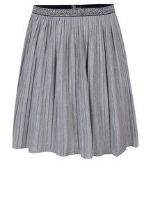 Sivá dievčenská plisovaná sukňa 5.10.15.