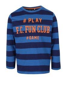 Bluză cu dungi și print pentru băieți  5.10.15.