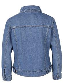 Jacheta din denim albastru deschis - Miss Selfridge Petites