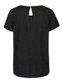 Top alb& negru cu model puncte - ONLY First