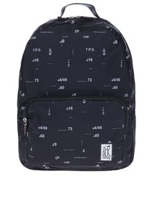 Rucsac bleumarin cu print cifre The Pack Society 18 l