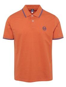Oranžové pánské polo tričko Sergio Tacchini Sergio Polo
