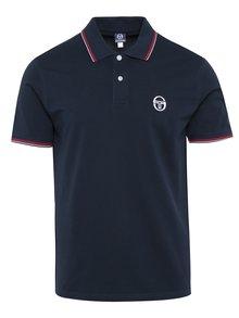 Tricou polo bleumarin pentru bărbați Sergio Tacchini Sergio Polo