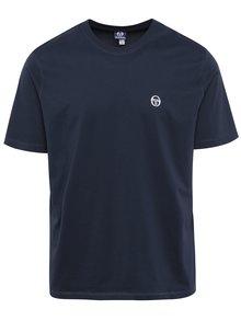 Tricou bleumarin din bumbac pentru bărbați Sergio Tacchini Daiocco