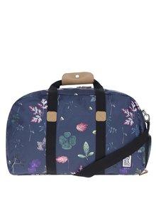 Tmavomodrá taška so vzorom listov The Pack Society 27 l