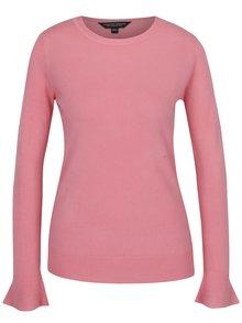 Pulover roz din jerseu Dorothy Perkins