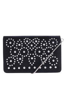 Čierna malá crossbody kabelka s aplikáciou Miss Selfridge