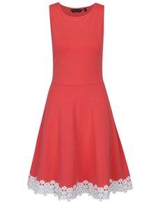 Rochie roșu corai fără mâneci Dorothy Perkins