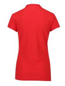 Červené dámske polo tričko Tommy Hilfiger New Chiara