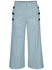 Pantaloni culotte cu dungi si nasturi decorativi Aer Wear