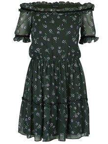 Rochie neagră cu imprimeu floral - Miss Selfridge