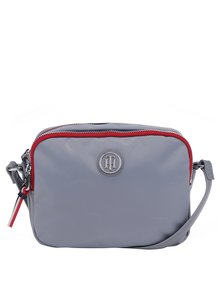Šedá crossbody kabelka Tommy Hilfiger Poppy Camera