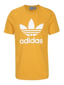 Žluté pánské tričko adidas Originals