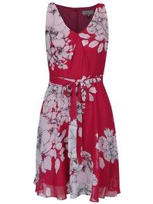 Ružové kvetované šaty bez rukávov Billie & Blossom Petite
