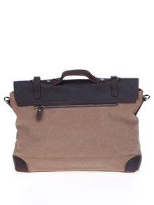 Hnedá kožená taška Urban Bag
