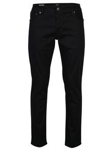 Blugi negri slim fit - Jack & Jones Tim