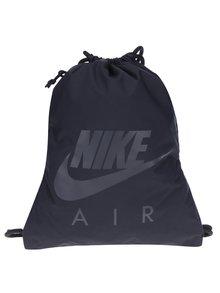 Čierny vak s vreckom a potlačou Nike Heritage 13 l