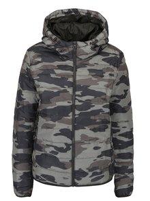 Jachetă matlasată cu print camuflaj - Jacqueline de Yong Ash