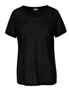 Čierne tričko Jacqueline de Yong Ramone