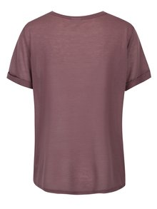 Vínové tričko Jacqueline de Yong Ramone