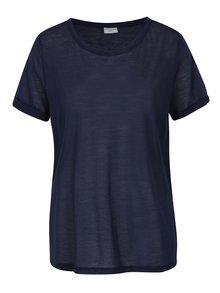 Tmavomodré tričko Jacqueline de Yong Ramone