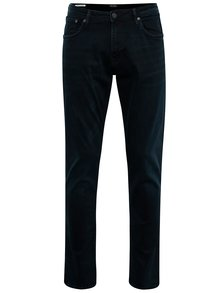 Blugi bleumarin slim fit Jack & Jones Glenn