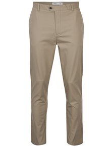Pantaloni bej chino slim fit - Burton Menswear London