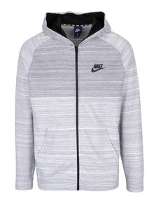 Hanorac gri melanj pentru bărbați Nike New