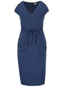Tmavě modré těhotenské šaty Mama.licious Blackie