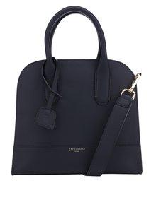 Černá kožená kabelka Emblemm
