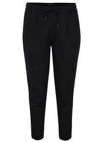 Pantaloni negri cu detalii din piele ecologică - ONLY Billy Boy