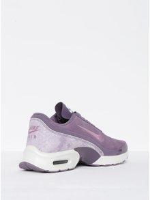 Fialové dámske semišové tenisky so štruktúrovanými detailmi Nike Air Max Premium
