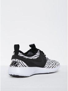 Pantofi sport negru&alb cu dungi pentru femei - Nike Juvenate SE