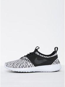 Čierno-biele dámske vzorované tenisky Nike Juvenate SE