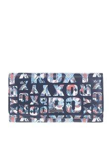 Černá peněženka s potiskem Roxy My Long Eyes