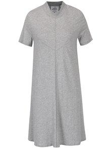 Sivé voľné šaty s krátkym rukávom Cheap Monday Jagged