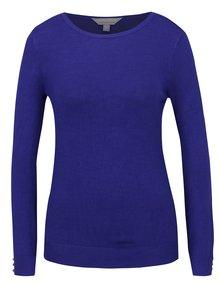 Modrý svetr s knoflíky na rukávech Dorothy Perkins