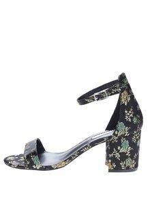 Čierne kvetované sandálky Dorothy Perkins