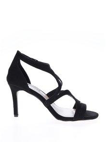 Sandale negre cu model decupat - Dorothy Perkins