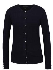 Tmavomodrý sveter na gombíky Dorothy Perkins
